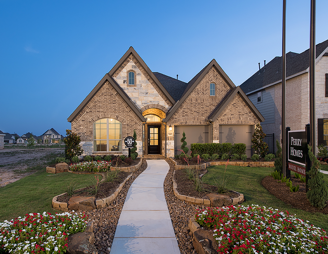 Perry model homes