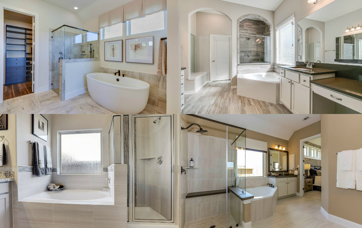bathrooms homes in fort bend