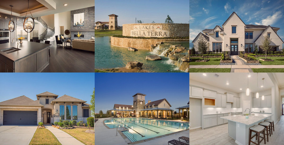 collage featured homes close out
