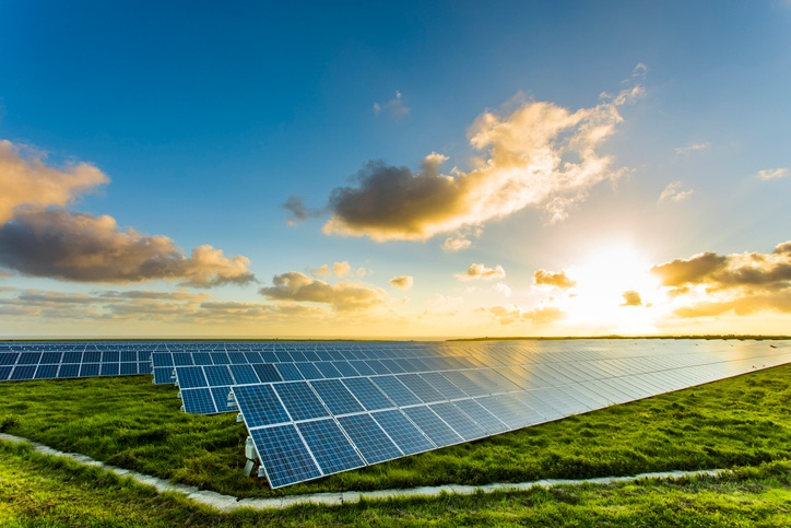 solar panel facility fort bend
