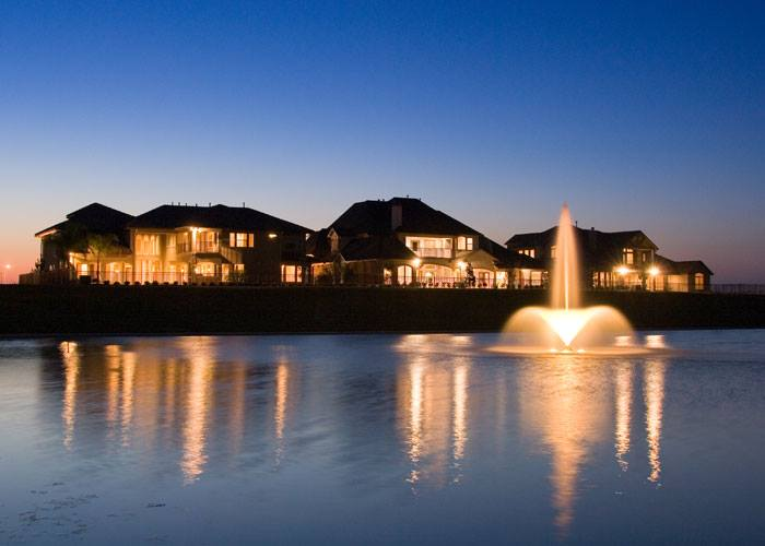 waterfront gated community fort bend